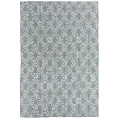 Timeless Elegance Hand Loomed Wool & Viscose Rug, 200x300cm, Natural / Grey