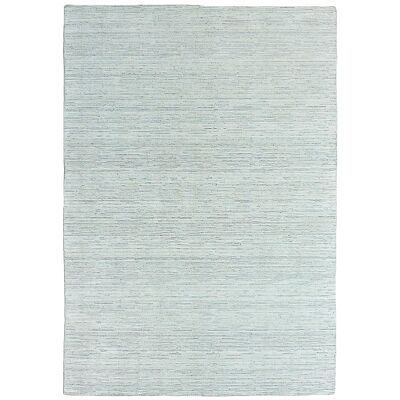 Timeless Stokes Hand Loomed Wool & Viscose Rug, 350x450cm, Natural / Grey