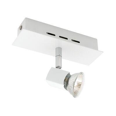 Titan Metal Spotlight, 1 Light, White