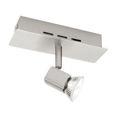 Titan Metal Spotlight, 1 Light, Satin Chrome