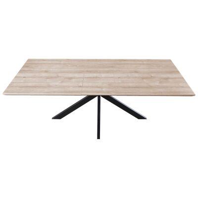 Trew Extendable Dining Table,180-220cm, Sonoma Oak