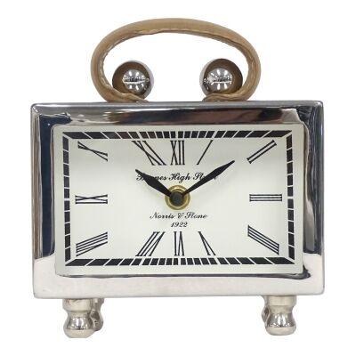 Michael Aluminium Table Clock