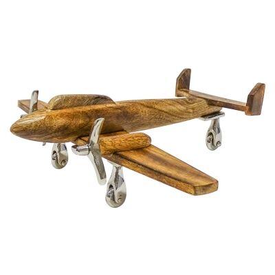 Kingsford Mango Wood Aeroplane Decor