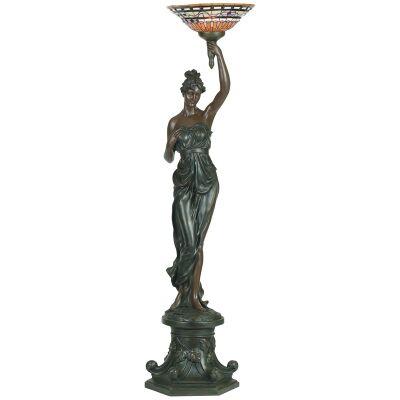Goddess of Light Figurine Decor Lamp, Left Arm Raising