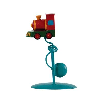 Authentic Models Hand Crafted Metal Baby Skyhook Balance Toy, Train