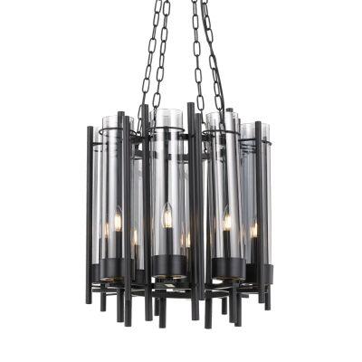 Tolga Metal & Glass Pendant Light, Small
