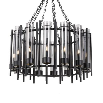 Tolga Metal & Glass Pendant Light, Large