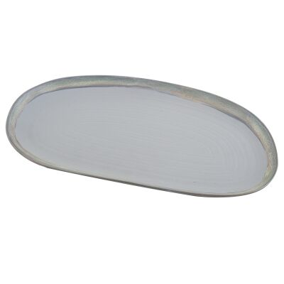 Lorne Ceramic Oval Serving Tray