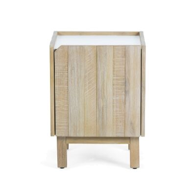 Taika Acacia Timber Bedside Table