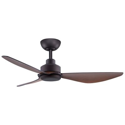 """Threesixty Trinity Commercial Grade DC Ceiling Fan, 122cm/48"""", Oil Rubbed Bronze"""