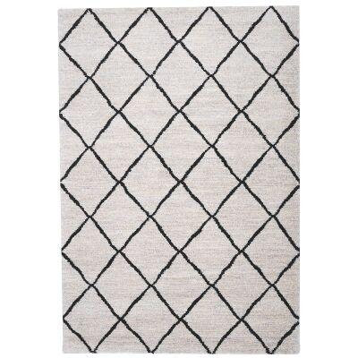 Trend Lattice Semi Shag Rug, 170x117cm