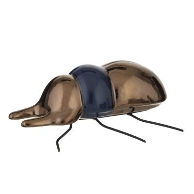 Insecto Ceramic Beetle Sculpture, Stag Beetle