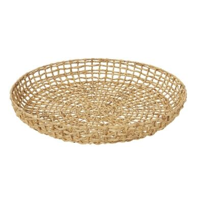 Lakota Handwoven Water Hyacinth Basket/Wall Decor