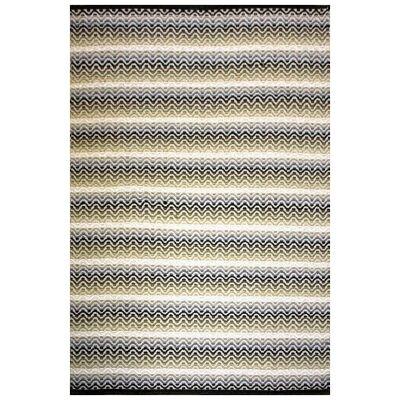 Tiskoni Reversible Flatwoven Cotton Rug, 165x155cm, Winter