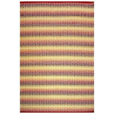 Tiskoni Reversible Flatwoven Cotton Rug, 130x70cm, Autumn