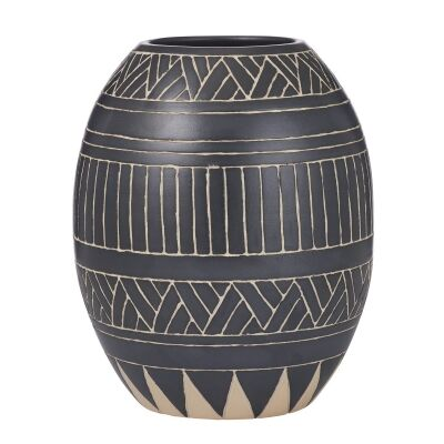 Sioux Glazed Earthenware Vase, Small
