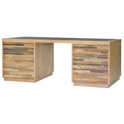 Tuscanspring Reclaimed Timber Office Desk, 174cm