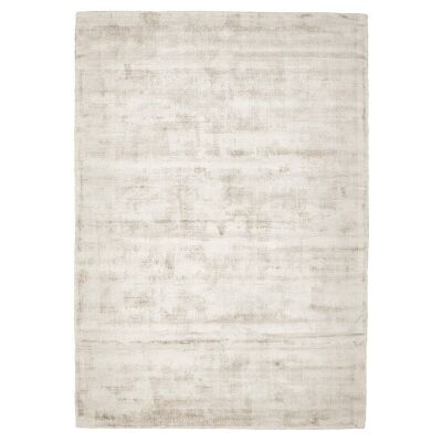 Luxe Hand Loomed Distressed Modern Rug in Latte  - 280x190cm