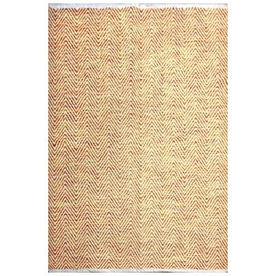Tye Reversible Flatwoven Cotton Rug, 225x155cm, Multi