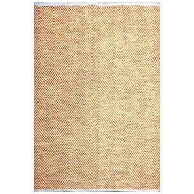 Tye Reversible Flatwoven Cotton Rug, 290x190cm, Multi