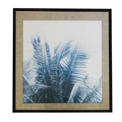 Vanua Pine Timber Framed Wall Art Print, 100cm