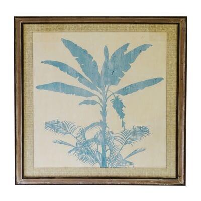 Ete Banane Pine Timber Framed Wall Art Pirnt, 100cm