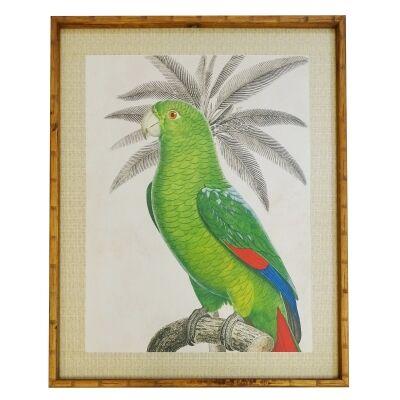 Chavez Bamboo Framed Wall Art Print, 120cm