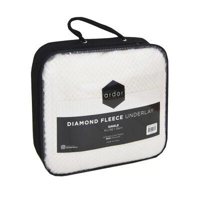 Ardor Diamond Fleece Underlay, Double