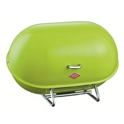Wesco Single Breadboy Steel Bread Bin - Lime Green