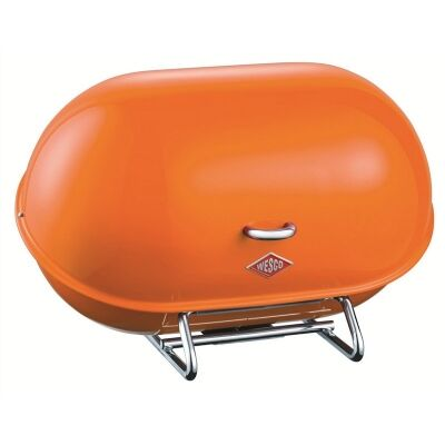 Wesco Single Breadboy Steel Bread Bin - Orange