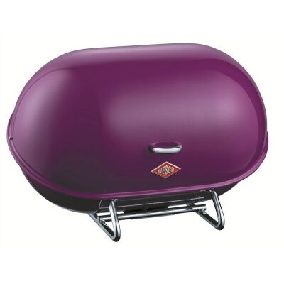 Wesco Single Breadboy Steel Bread Bin - Lilac