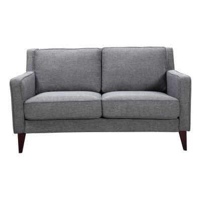 Newford 2 Seater Fabric Sofa, Gun Metal