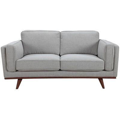 Briars Fabric Sofa, 2 Seater, Grey