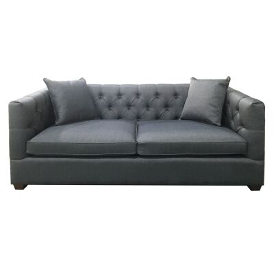 Berala Fabric Sofa Bed, Salt & Pepper