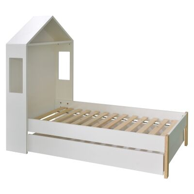 Honiton Arbor Bed with Trundle Storage Drawer, King Single