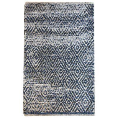 Ulta Textured Cotton & Hemp Rug, 190x290cm