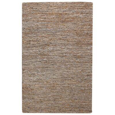 Parry Handwoven Textured Hemp & Wool Rug, 160x230cm