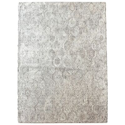 Timothy Hand Tufted Textured Wool Rug, 160x230cm, Sand