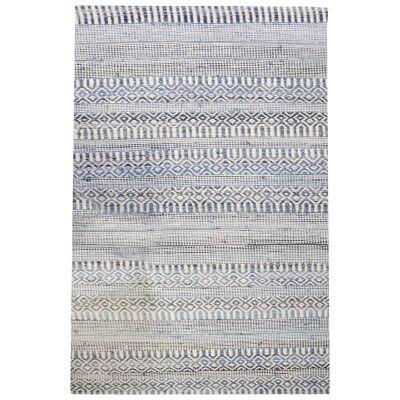 Andosa Handwoven Wool & Denim Rug, 160x230cm