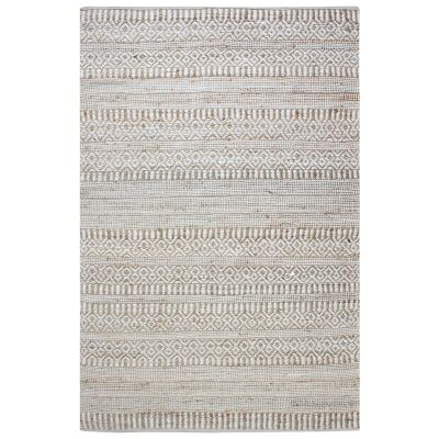 Andosa Handwoven Hemp & Wool Rug, 160x230cm