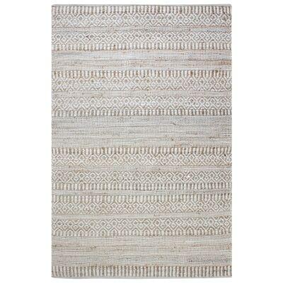 Andosa Handwoven Hemp & Wool Rug, 190x290cm