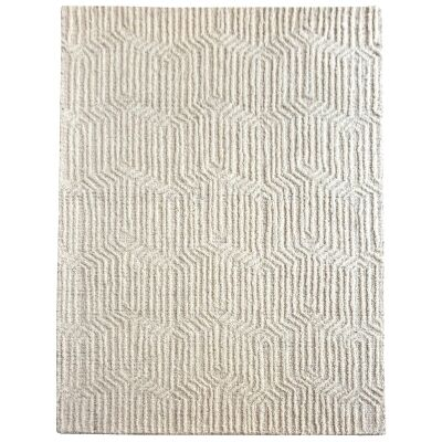 Apine Textured Wool Rug, 190x290cm
