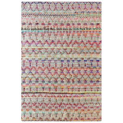 Antasey Handmade Hemp & Fabric Rug, 160x230cm