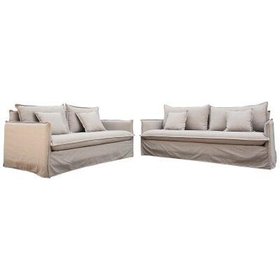 Bordeaux 3+2 Seater Fabric Sofa Set