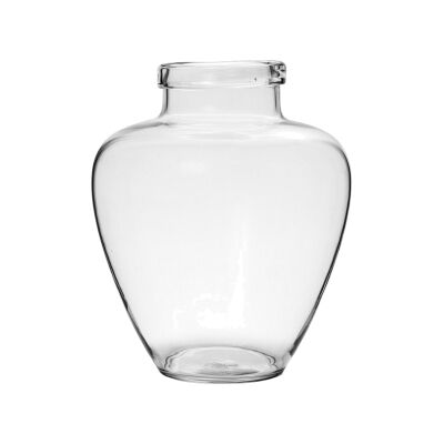 Casa Glass Vase, Small, Clear