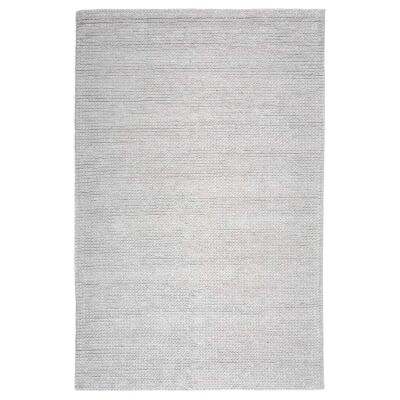 Vail Handwoven Plush Wool Rug, 160x120cm, Snowfield
