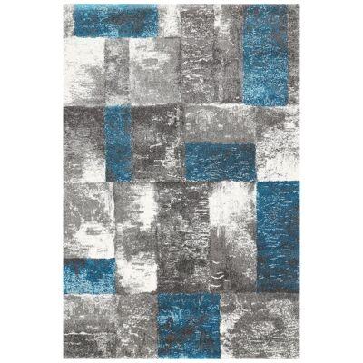 Valens Friston Modern Rug, 80x150cm, Blue