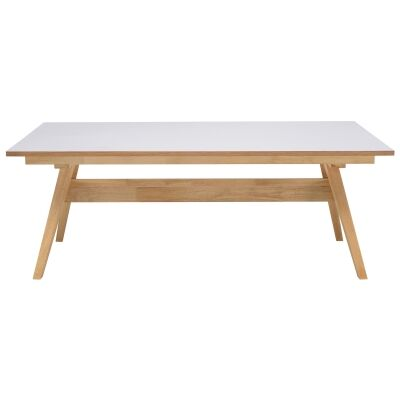 Vinko Wooden Dining Table, 200cm