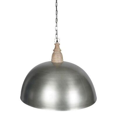 Hamel Iron Dome Pendant Light, 60cm