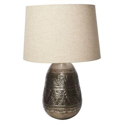 Jasper Metal Work Iron Table Lamp